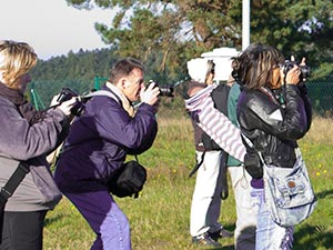 stagiaires Photographes en formation